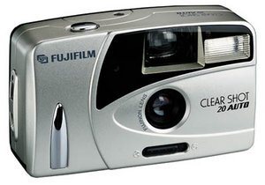 Fujifilm clear Shot 20 car