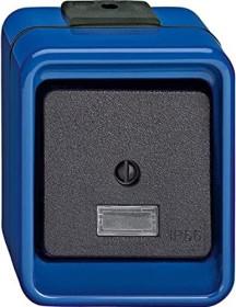 Merten Schlagfest Wippschalter, blau (370675)