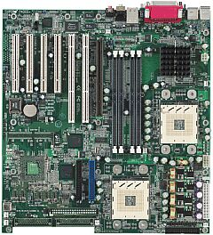 Supermicro P4DCE+, i860, LAN (RDR)
