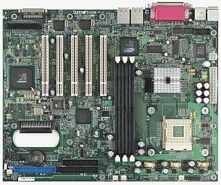 Supermirco P4SBR, i845, Dual Channel U160, 2x LAN (RDR)