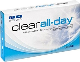 Clearlab clear all-day, -9.00 Dioptrien, 6er-Pack