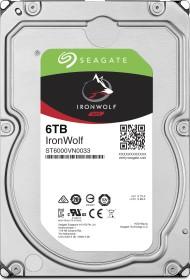 Seagate IronWolf NAS HDD 24TB Bundle, SATA 6Gb/s, 4x 6TB-Pack (ST6000VN0033X4)