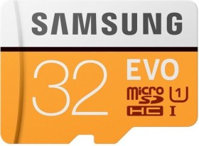 Samsung R100 microSDHC EVO 2017 32GB Kit, UHS-I U1, Class 10 (MB-MP32GA)