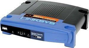 Linksys BEFVP41 router VPN