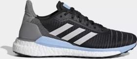 adidas Solar Glide 19 core black/grey one/glow blue (Damen) (G28038)