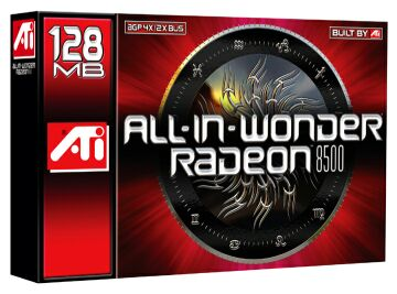 ATI All-In-Wonder Radeon 8500DV, 128MB DDR, DVI, TV-out, tuner TV, AGP