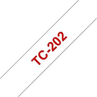 Brother TC-202 12mm, red/white -- via Amazon Partnerprogramm