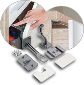 reer DesignLine Schrank-/Schubladensicherung, 1er-Pack (71011)