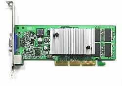 AOpen GF4MX420-V64, GeForce4 MX420, 64MB (SDR), TV-out, AGP (91.05210.422)