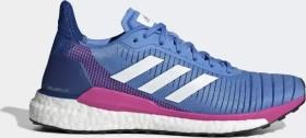 adidas Solar Glide 19 real blue/cloud white/shock pink (Damen) (G28039)