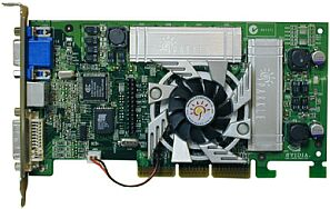 Sparkle SP7000T5, GeForce3 Ti500, 64MB DDR, DVI, TV-out, AGP, Retail