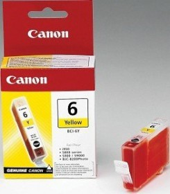 Canon Tinte BCI-6Y gelb, 3er-Pack
