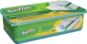 Swiffer Bodenwischer Feuchte Bodentücher Nachfüllpack mit frischem Zitrusduft 48