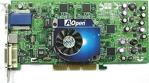 AOpen Aeolus GF4TI4600-DVC128, GeForce4 Ti4600, 128MB DDR, DVI, TV-out, AGP (91.05210.492)