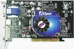 AOpen GF4MX460-DVC64, GeForce4 MX460, 64MB DDR, DVI, TV-out, AGP (90.05210.462)