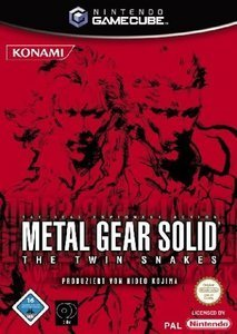 Metal Gear Solid: The Twin Snakes (niemiecki) (GC)