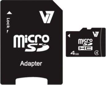 V7 R10 microSDHC 4GB Kit, Class 4 (VAMSDH4GCL4R-2) -- via Amazon Partnerprogramm