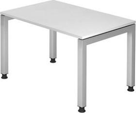 Hammerbacher Ergonomic Plus J-Serie VJS12/W/S, weiß, Schreibtisch