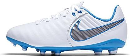 1188946f748 Nike Tiempo Legend VII Academy Just Do It FG white blue hero metallic cool