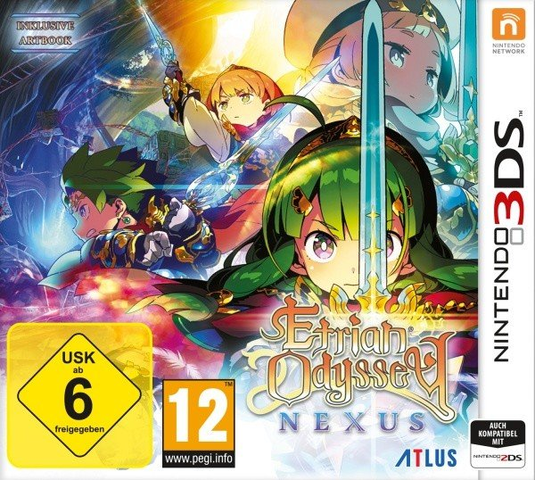 Etrian Odyssey Nexus (English) (3DS)