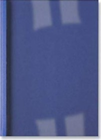 GBC thermal cover A4, 150µm, blue matte, 30 sheets, 100 pieces (386619)