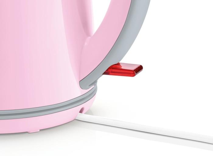 Pink//Grau BOSCH TWK7500K Wasserkocher