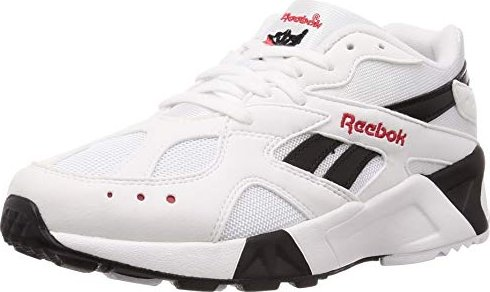 41fc6348491c Reebok Aztrek bw-white black excellent red (CN7187) starting from ...