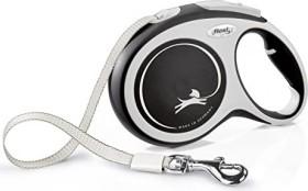 flexi New Comfort L, 8m, belt, grey