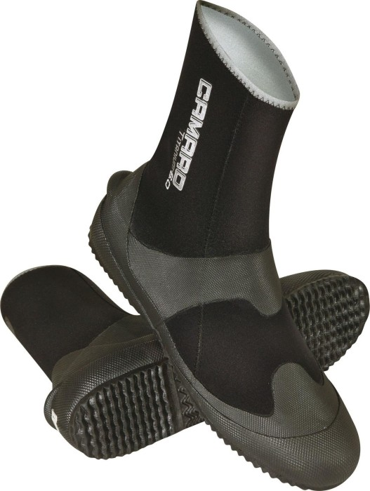 Camaro titanium Pro footlets 4mm black (252-99)