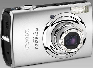 Canon Digital Ixus 860 IS silber (2341B007)