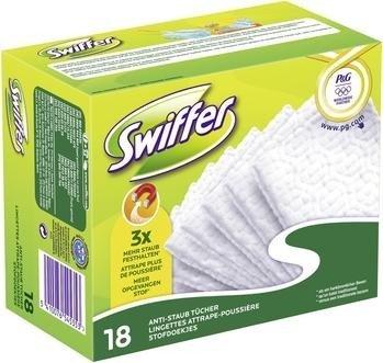 Swiffer Trocken Nachfüllpack Wischtücher, 18 Stück (545353)