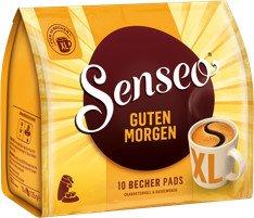 Douwe Egberts Senseo Guten Morgen XL Kaffeepads, 10er-Pack (1x 10 Stück)