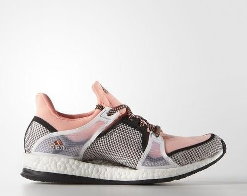 best service 71498 9648f adidas Pure Boost X training core black sun glow ftwr white (ladies ...