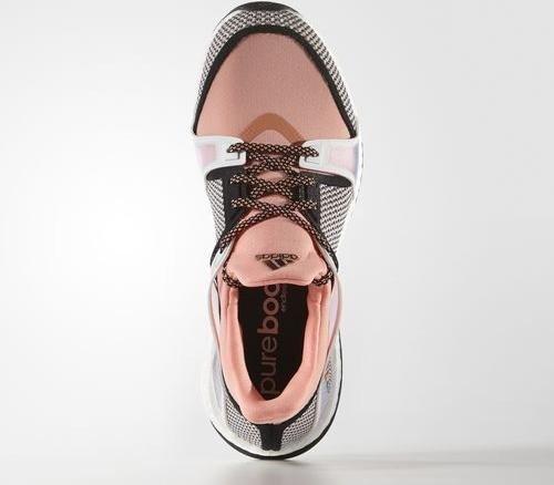 huge discount 7c6ce 05cf5 adidas Pure Boost X training core blacksun glowftwr white (ladies)  (AQ5223)