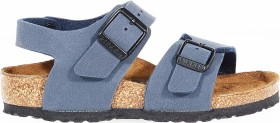 Birkenstock New York Birko-Flor Nubuk navy (Junior) (0087771/0087773)