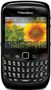 Blackberry Curve 8520 black -- The RIM and BlackBerry families of related marks, images and symbols are the exclusive properties of, and trademarks of, Research In Motion – used by permission.