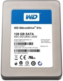 Western Digital WD SiliconDrive N1x 128GB, SATA (SSC-D0128SC-2500)