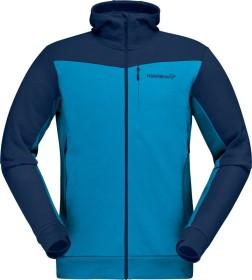 Norrøna falketind warmwool2 Stretch Zip Hood Jacke indigo night blue (Herren) (1820-20-2295)