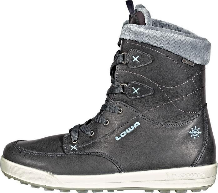 Lowa Damen Melrose GTX Mid Trekking-& Wanderstiefel, Grau (Anthrazit/Eisblau), 39 EU