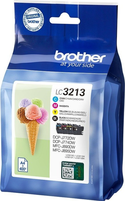 Brother ink LC3213VAL value pack (LC3213VALDR)