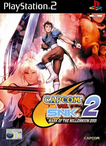 CapCom vs. SNK 2 - Mark of the Millennium 2001 (niemiecki) (PS2) -- via Amazon Partnerprogramm