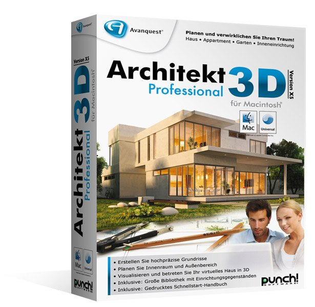 ARCHITEKT 3D X5 DOWNLOADEN