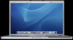 "Apple PowerBook G4, 17"", 1.00GHz, 512MB, SuperDrive (M8793*/A)"