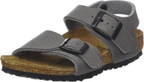 Birkenstock New York Birko-Flor Nubuk dark grey (Junior) (0087563)