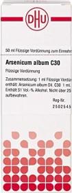 DHU Arsenicum album Dilution C30, 50ml