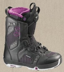 Salomon Pearl schwarz Softboot (Damen)