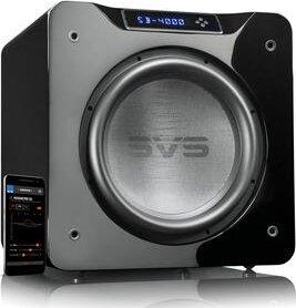 SVS SB-4000 hochglanz schwarz