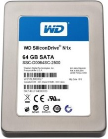 Western Digital WD SiliconDrive N1x 64GB, SATA (SSC-D0064SC-2500)