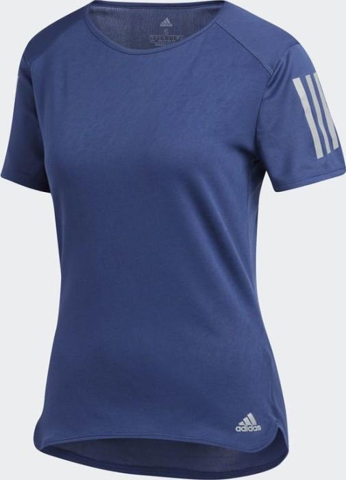 72cd4b1b053 adidas Response running shirt short-sleeve noble indigo (ladies) (CF2154)