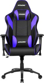 AKRacing Core LX Plus Gamingstuhl, schwarz/violett (AK-LXPLUS-IN)